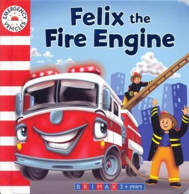 Emergency Vehicles - Finn the Fire Engine (Board book)