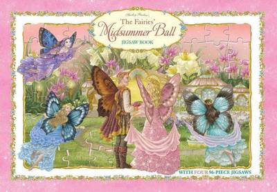 Shirley Barber's The Fairies' Midsummer Ball Deluxe Jigaw Book (Hardback)