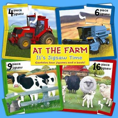 At the Farm - It's Jigsaw Time (Board book)