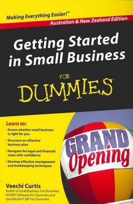 Getting Started in Small Business For Dummies(R) (Paperback)