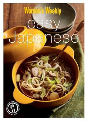 Easy Japanese - The Australian Women's Weekly Minis (Paperback)
