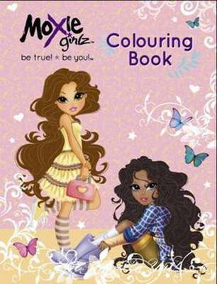Moxie Girlz Colouring and Puzzle Book (Paperback)