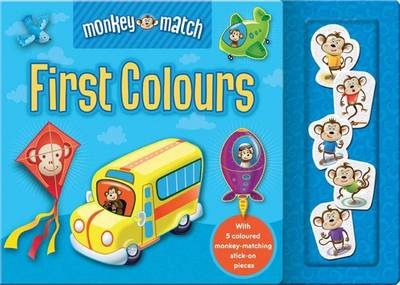 Monkey Match First Colours (Board book)