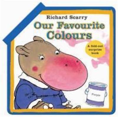 Our Favourite Colours (Board book)