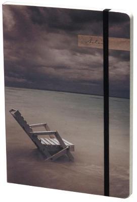 Ocean View Lined Elastic Large Journal (Paperback)