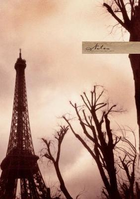 Paris Twilight Lined Elastic Large Journal (Paperback)