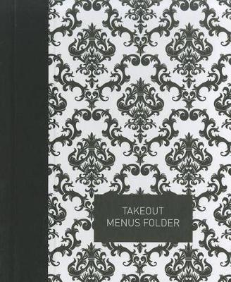 Takeout Menu Folder: Elegant Black (Hardback)