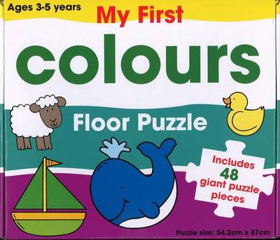 My First Colours Floor Puzzle