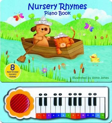 Nursery Rhymes Piano Book (Board book)