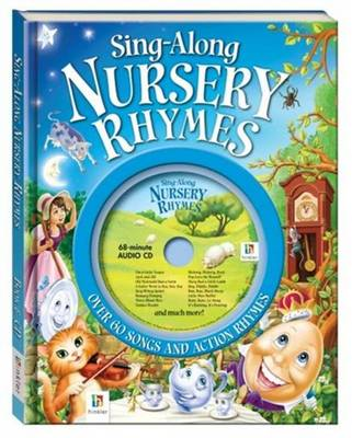 Sing Along Nursery Rhymes Book And Cd Hardback