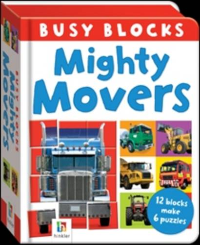 Busy Block: Mighty Movers (Board book)