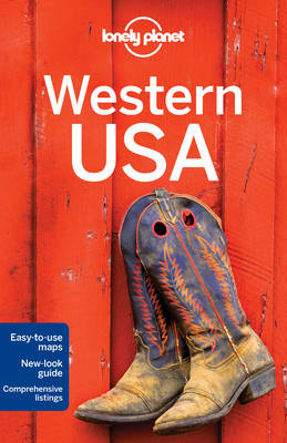Lonely Planet Western USA - Travel Guide (Paperback)