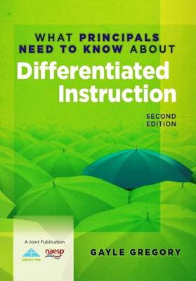 What Principals Need to Know About Differentiated Instruction (Paperback)