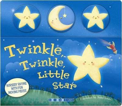 Moving Nursery Rhymes- Twinkle Twinkle Little Star (Board book)