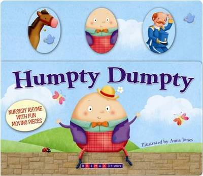 Moving Nursery Rhymes- Humpty Dumpty (Board book)