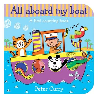 All Aboard My Boat (Board book)