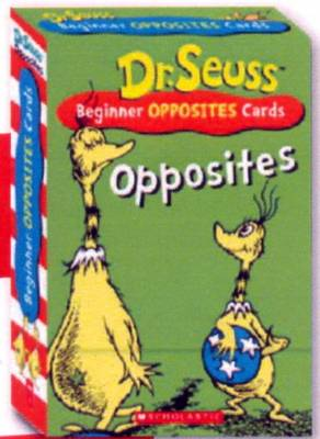 Dr Seuss Flash Cards - Opposites (Paperback)