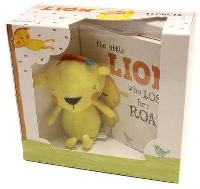 The Little Lion Who Lost Her Roar Book & Plush
