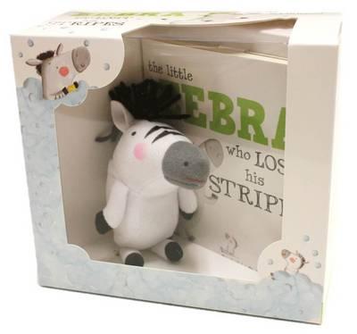 The Little Zebra Who Lost His Stripes Book & Plush