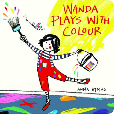 Wanda Plays with Colour (Board book)