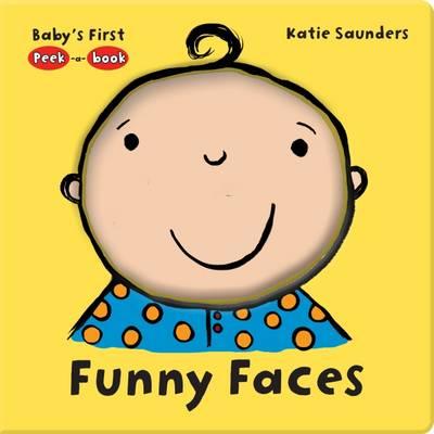 Peek-a-Book Funny Face (Hardback)