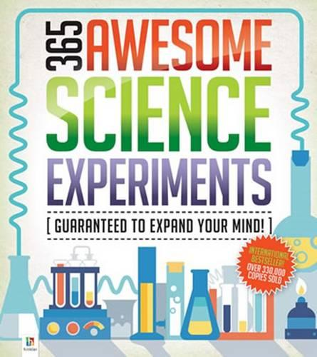 365 Awesome Science Experiments (Hardback)