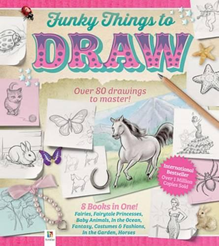 Funky Things to Draw (Hardback)