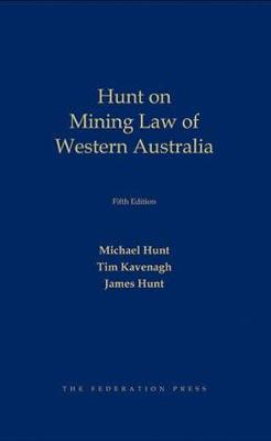 Mining Law in Western Australia (Hardback)