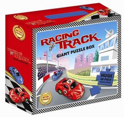 Racing Track Giant Floor Puzzle (Hardback)