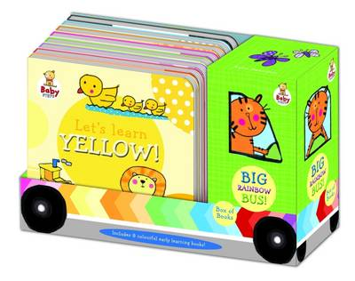 Baby Steps Big Rainbow Bus 8 Book Set (Board book)