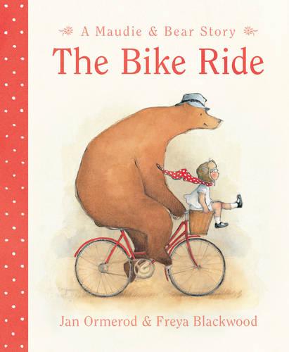 The Bike Ride - A Maudie and Bear Story (Board book)