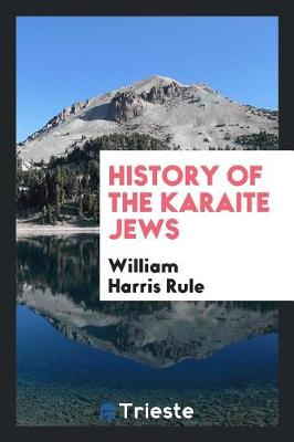 History of the Karaite Jews (Paperback)