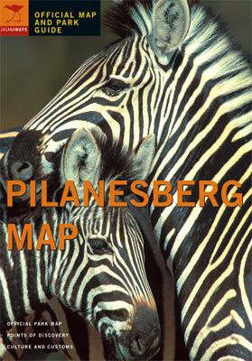 Pilanesberg: Official Map and Park Guide (Paperback)