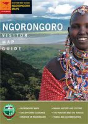 Ngorongoro Visitor Map Guide (Paperback)