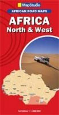Road map North & West Africa (Sheet map, folded)