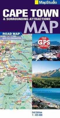 Road Map Cape Town & Surrounds (Sheet map, folded)
