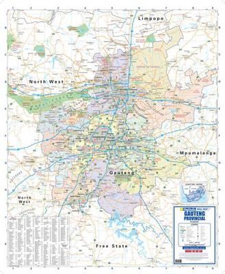 South Africa Provincial Map: MSPM5162 (Sheet map, flat)