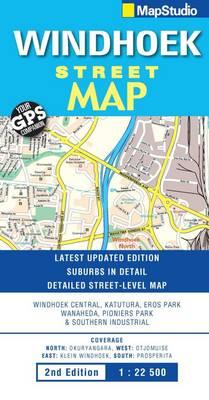 Street map Windhoek (Sheet map, folded)