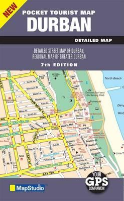 Pocket Tourist Map Durban (Sheet map, folded)
