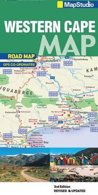 Western Cape road map (Sheet map, folded)