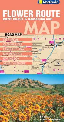 Flower route West Coast & Namaqualand road map (Sheet map, folded)