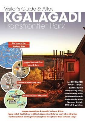 Visitor's guide Kgalagadi Transfrontier Park (Sheet map, folded)