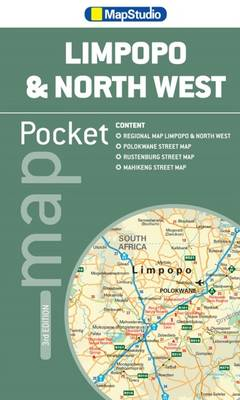 Pocket tourist map Limpopo & North West (Sheet map, folded)