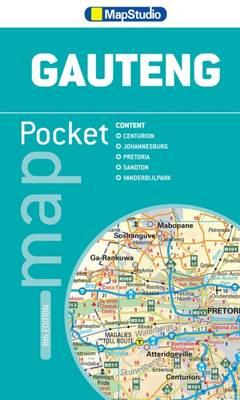 Pocket map Gauteng (Sheet map, folded)