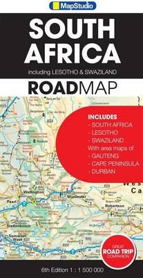 Road map - South Africa (Sheet map, folded)