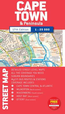 Street map - Cape Town (Sheet map, folded)
