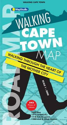 Walking Cape Town - Road map: Walking through the heart of the Mother City (Sheet map, folded)