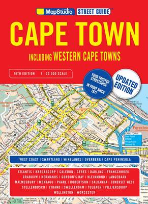 Cape Town street guide: Street Guide: Including Western Cape towns (Paperback)