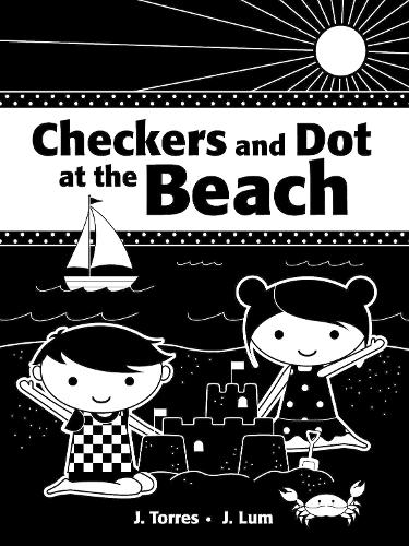 Checkers And Dot At The Beach (Board book)