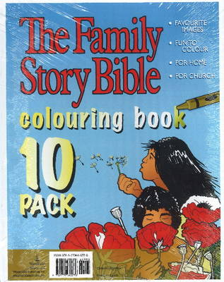 Family Story Bible Colouring Book 10-Pack (Paperback)
